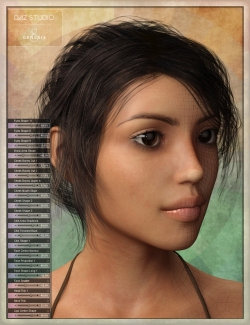 Handspan Studios Morphs for Daz Genesis 8 and other3d figures